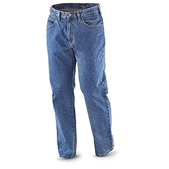 Guide Gear 1977 5-pocket Jeans, STONEWASH, W30 L29