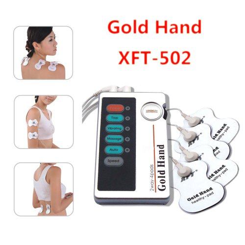 XFT-502 Electrical Massager with 4 pads