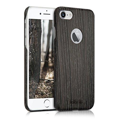 kalibri-Holz-Case-Hlle-fr-Apple-iPhone-7-Handy-Cover-Schutzhlle-aus-Echt-Holz-und-Kunststoff-aus-Gingkoholz-in-Anthrazit