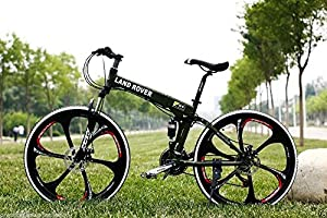 "Amazon.com : 26"" Inch 5 Color Carblon Folding Bicicleta Mountain Bike"