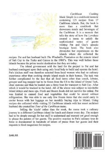 Caribbean Cooking Made Simple: A Cookbook/Memoir of my 20 years in the Caribbean Islands: Volume 2