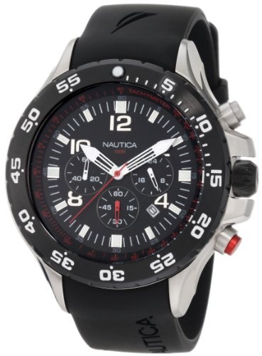 Nautica Men's N17526G NST Stainless Steel Watch