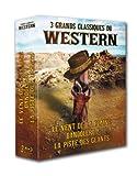 Image de 3 grands classiques du Western : Le vent de la plaine + Bandolero ! + La piste des géants [Blu-ray]