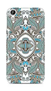 Amez designer printed 3d premium high quality back case cover for HTC Desire 626 G Plus (Beautiful pattern background vector)