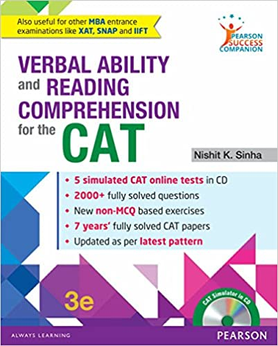 PSC for VA for CAT by Nishit K. Sinha, review, buy