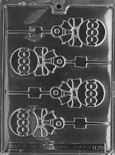 RATTLE LOLLY Baby Candy Mold Chocolate