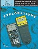 img - for Real-World Math with the CBL System: Activites for the TI-83 and TI-83 Plus book / textbook / text book