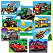 Favorite Vehicles Wooden Puzzles, Set of 10