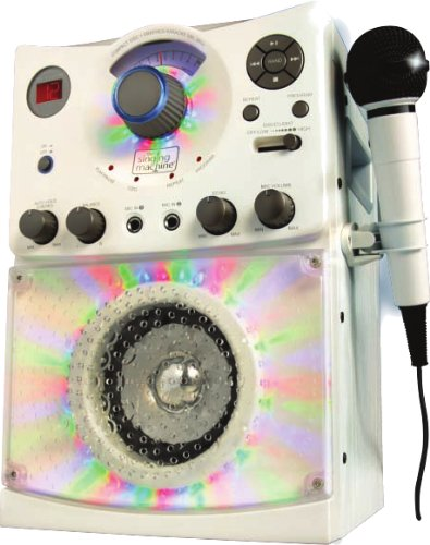 Learn More About The Singing Machine SML-385W Disco Light Karaoke System