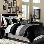 8pcs Modern Black White Grey Luxury S...