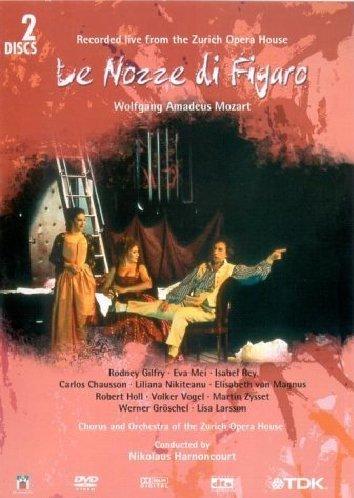 Mozart: Le Nozze di Figaro (The Marriage of Figaro) -- Zurich/Harnoncourt [DVD] [2006]