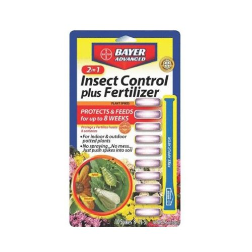 bayer-advanced-701710-2-in-1-insect-control-plus-fertilizer-plant-spikes-10-spikes