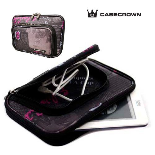 CaseCrown Pocket Satchel Case for iriver Story HD Digital EBook Reader- News Style