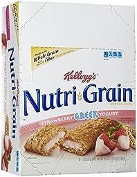 Kellogg\'s Nutri-Grain Greek Yogurt Bars-Strawberry-1.3 oz, 16 ct