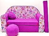 M35�Ni�os Bar Dormir emergente sof� sof� sof� Mini sof� 3�en 1�Baby Set +�-�Sill�n infantil y asiento coj�n + colch�n