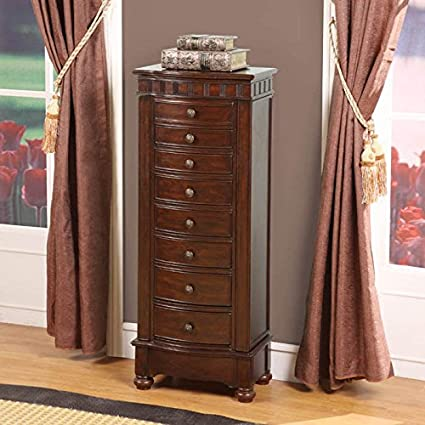 Muscat 8 Drawer Jewelry Armoire By Nathan Direct