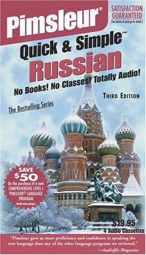 Russian, Q&s: Learn to Speak and Understand Russian with Pimsleur Language Programs (Pimsleur Quick and Simple)
