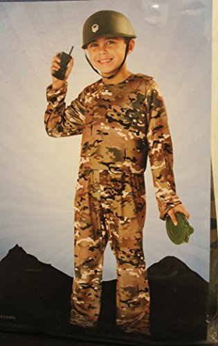 Army Commando Kids Costume S (6) 4 Years +