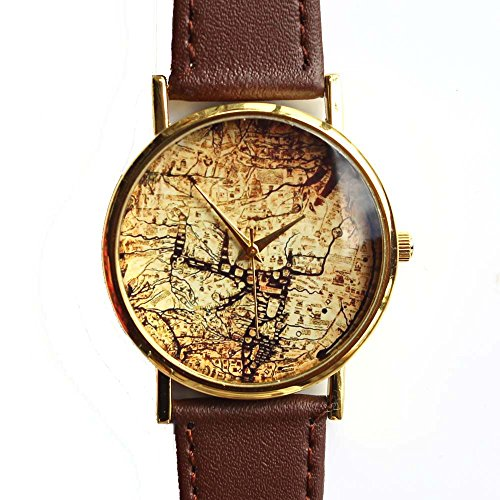 old-map-watch-brown-leather-hereford-mappa-mundi-1300