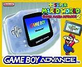 Game Boy Advance Clear Blue & Super Mario Advance 2 Summer Bundle