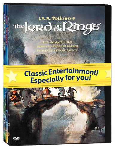 J.R.R. Tolkien Animated Films Set (The Hobbit/The Lord of the Rings/The Return of the King) (Lord Of The Rings Full Series compare prices)
