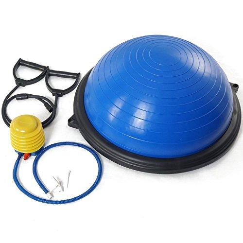 "Bosu Ball Air Pump: 23"" Yoga Ball Balance Trainer Yoga Fitness Pilates"