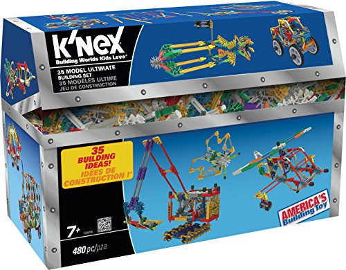 KNEX-35-Model-Building-Set-480-Pieces-For-Ages-7-Construction-Education-Toy