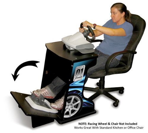 Xtension Simulation and Racing Wheel Stand (Blue Graphics)