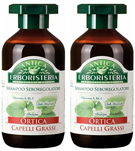 Antica Erboristeria: Ortica (Nettle) Seboregulating Shampoo * 8.45 Fluid Ounce (250ml) Package * [ Italian Import ] by Antica Erboristeria