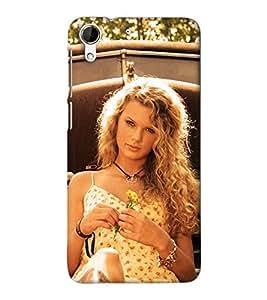 IMPACTDESIGNS Plastic Back Mobile Cover for HTC Desire 626 (Multicolour)