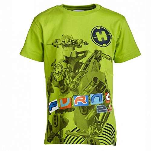 LEGO Hero Factory T-Shirt Thor 105, Größe:128;Farbauswahl:848 lime