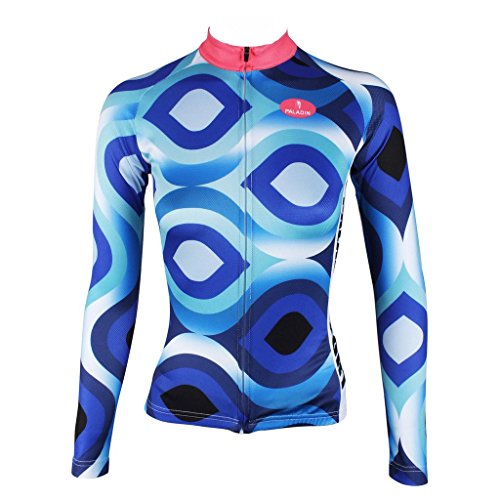 qinying-colorful-women-long-sleeves-breathable-cycling-bike-jersey-shirt