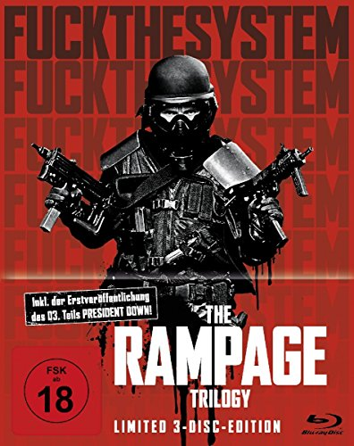 The Rampage LTD 3 Disc Edition [Blu-ray]