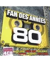 Coffret 4 CD : Fan des Années 80