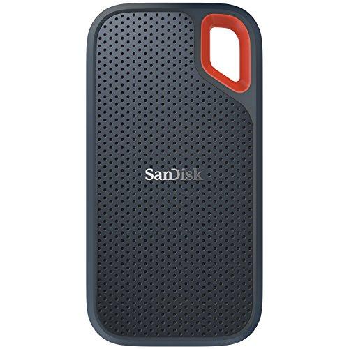 샌디스크 250GB/500GB/1TB/2TB 외장 휴대용 SSD - SanDisk Extreme Portable External SSD - USB-C, USB 3.1 - SDSSDE60-1T00-G25