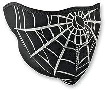 Zan Headgear Spider Web Neoprene Cold Weather Half Face Mask