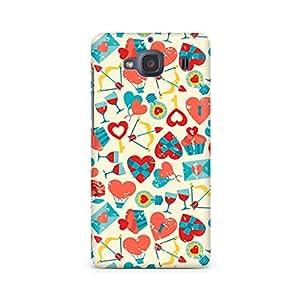 Mobicture Be my Valentine Premium Printed Case For Xiaomi Redmi 2s