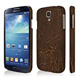 EMPIRE KLIX Slim-Fit Hard Case For Samsung Galaxy S4 - Brown Leather Croc
