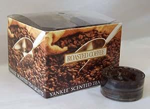 Roasted Coffee - Yankee Candle Box fo 12 Tea Lights