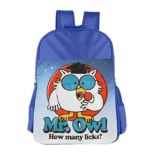 LALFOUNEE Mr. Owl Children Kids Boys Girls School Shoulder Bag Lunch Backpack Bags For School Travel Hiking Outdoor Picnic (Tootsie Roll Owl Costume)