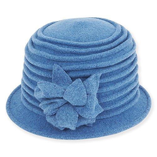adora-womens-soft-wool-cloche-bucket-hat-with-floral-trim-d-denim