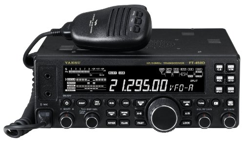 Yaesu FT-450D 100 Watt , 6 thru 160M HF All-Mode Amateur Ham Radio Transceiver with Built-In Automatic Antenna Tuner & DSP Filtering!