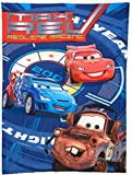 Disney - Cars Max Rev 4-piece Toddler Bed Bedding Set