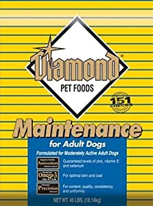 Diamond Dry Food for Adult Dogs, Maintenance Chicken Formula, 50-Pound Bag