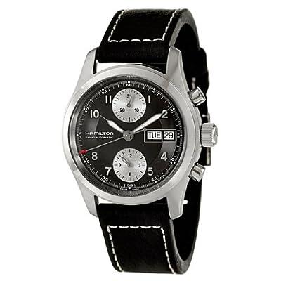 Hamilton Men S H71466733 Khaki Field Black Dial Watch Dwmnj50