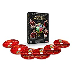 The British & Irish Lions 2013: The Complete Collection (6-Disc PAL ONLY)