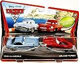 Disney Pixar Cars 2 - Finn McMissile & Leland Turbo