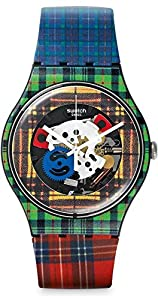 Swatch SUOB114 New Gent Mcpattern Watch
