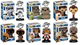 Funko POP Star Wars Series 3 Vinyl Bobblehead Figures Set of 6