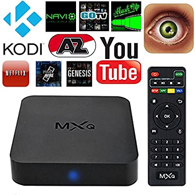 Xinye MXQ Amlogic S805 Quad Core Android 4.4 Smart 1080p HDMI 4k Streaming TV Box KODI